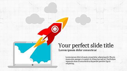 Startup Infographic Presentation Template Presentation Template, Master Slide