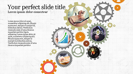 Agenda Presentation Concept Presentation Template, Master Slide