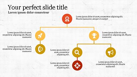 Minimalistic Presentation with Flat Icons Presentation Template, Master Slide