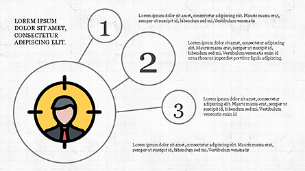 Mind Map Infographics Concept Presentation Template, Master Slide