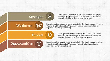 SWOT Analysis Slide Deck Presentation Template, Master Slide