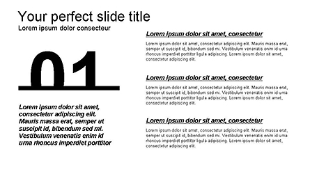 Annual Report Infographic Presentation Template, Master Slide