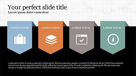 Presentation with Spaghetti Diagrams Presentation Template, Master Slide
