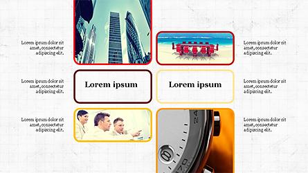 Shapes and Photos Presentation Slides Presentation Template, Master Slide
