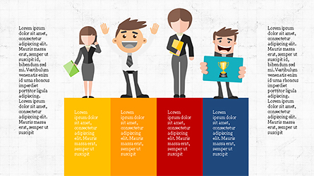 Contest Presentation Concept Presentation Template, Master Slide