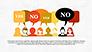 Yes No Presentation Concept slide 1