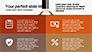 Flat Shapes Business Presentation Template slide 7