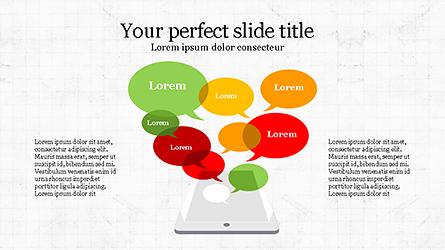 Online Marketing Presentation Template Presentation Template, Master Slide
