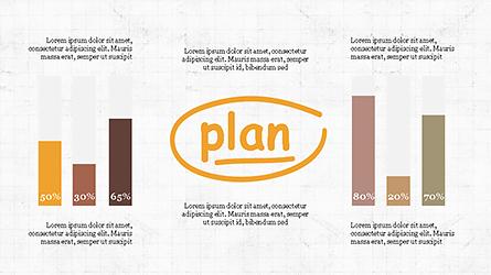 Plan Sketch Presentation Concept Presentation Template, Master Slide