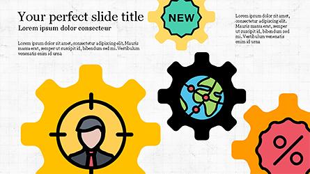 Colorful Marketing Presentation Template Presentation Template, Master Slide