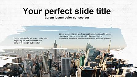 Brochure Style Presentation Template Presentation Template, Master Slide