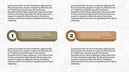 Agenda with Numbers Presentation Template Presentation Template, Master Slide