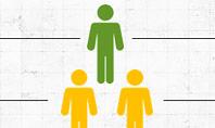 Human Pyramid Infographics