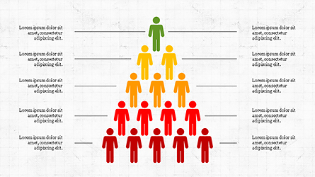Human Pyramid Infographics Presentation Template, Master Slide