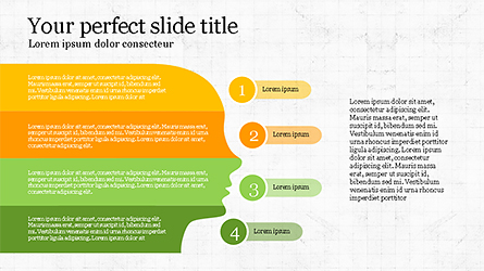 Stage Infographics Presentation Template, Master Slide