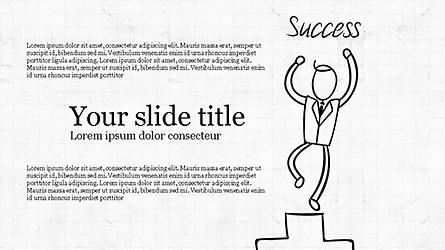 Startup Pitch Deck Presentation Template, Master Slide