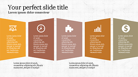 Report Presentation Infographics Presentation Template, Master Slide