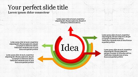 Idea Explanation Presentation Infographics Presentation Template, Master Slide