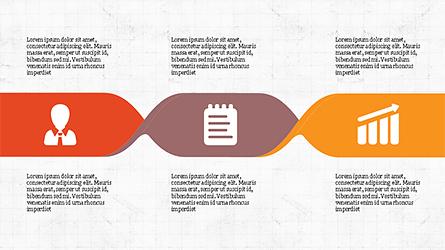 Process Infographics Slides Presentation Template, Master Slide
