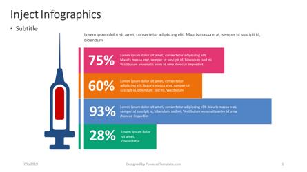 Inject Infographics Presentation Template, Master Slide