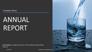 Nonprofit Annual Report slide 1