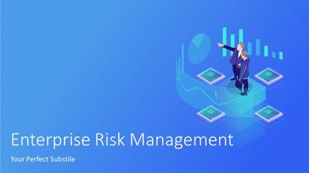 Enterprise Risk Management Presentation Template, Master Slide