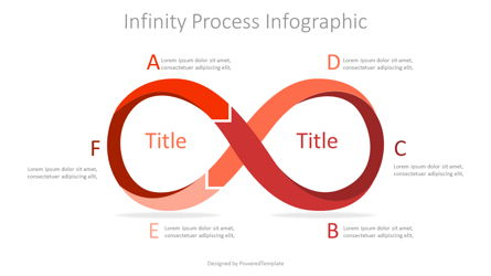 Infinity Process Infographic Presentation Template, Master Slide