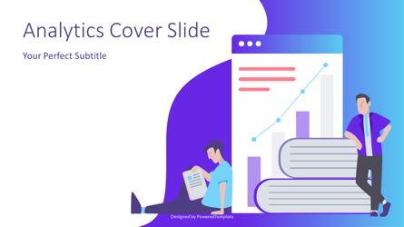 Financial Analytics Cover Slide Presentation Template, Master Slide