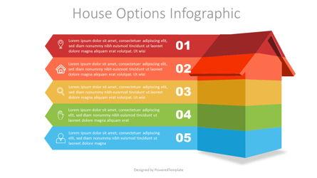 House Options Infographic Presentation Template, Master Slide