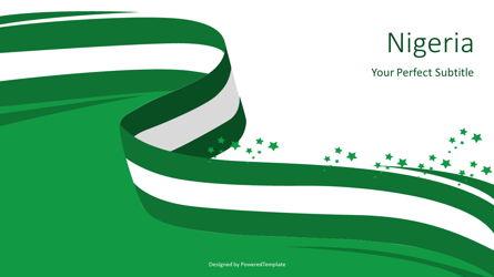 National Flag of Nigeria Presentation Template, Master Slide