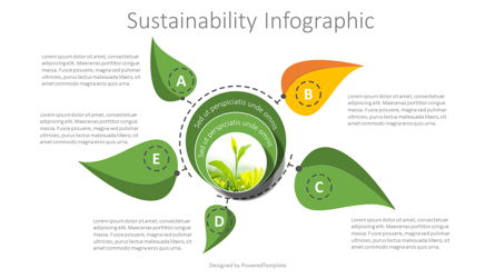 Sustainability Infographic Presentation Template, Master Slide