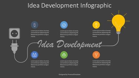 Idea Development Roadmap Presentation Template, Master Slide