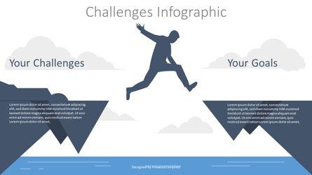 Challenge Concept Illustration Presentation Template, Master Slide