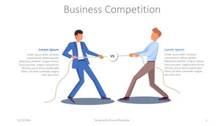 Business Competition Slide Presentation Template, Master Slide