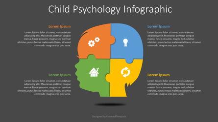 Child Psychology Infographic Presentation Template, Master Slide