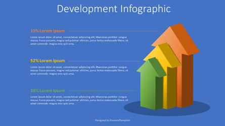 Growth and Development Concept Infographic Presentation Template, Master Slide