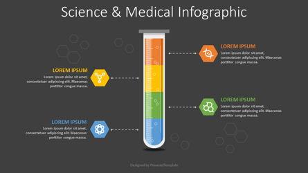 Science and Medicine Infographic Presentation Template, Master Slide