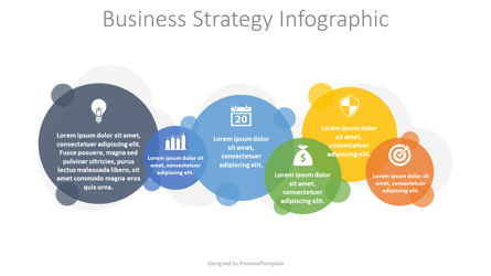 Business Strategy Infographic Presentation Template, Master Slide