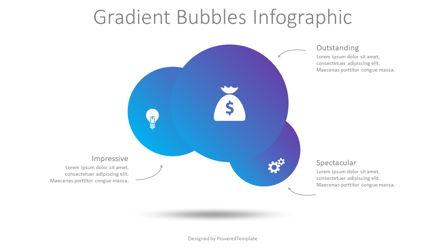 Gradient Bubbles Infographuc Presentation Template, Master Slide