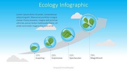 Ecology Concept Infographic Presentation Template, Master Slide