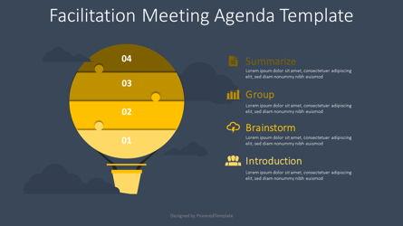 Facilitation Meeting Agenda Template Presentation Template, Master Slide