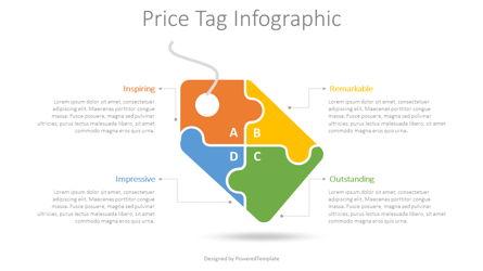 Price Tag Infographic Presentation Template, Master Slide