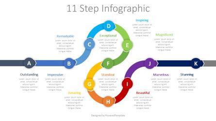Roadmap Timeline Infographic Presentation Template, Master Slide