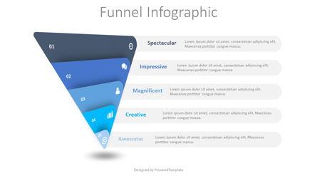 Sales and Marketing Funnel Presentation Template, Master Slide
