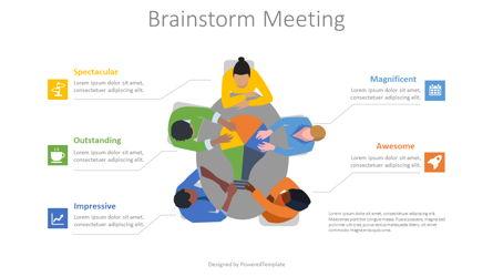 Brainstorming Meeting Presentation Template, Master Slide