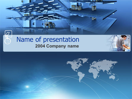 Construction Presentation Template, Master Slide
