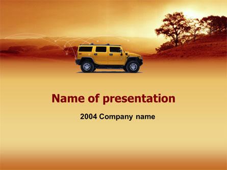 Safari Presentation Template, Master Slide