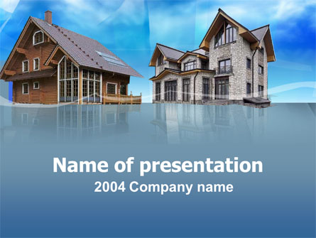 Suburban Manor Presentation Template, Master Slide
