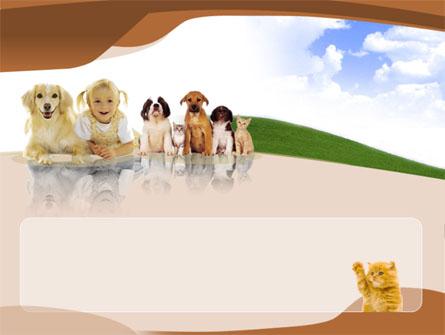 Pets Free Presentation Template, Master Slide