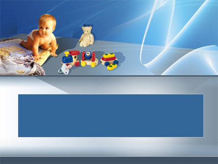 Kids & Toys Presentation Template, Master Slide